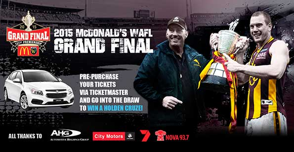WAFL Final Banner 2015